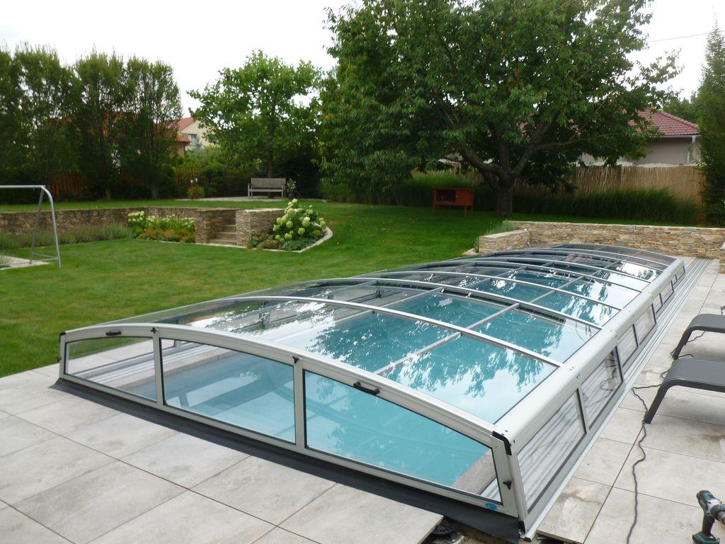 Realizace zastřešení bazénu Praktik